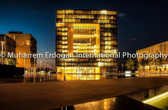 GERMANY – NIGHT IMPRESSIONS – THYSSENKRUPP QUARTIER –  23 – 08 – 2015