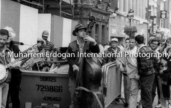 Ireland Dublin Grafton Street August 1989