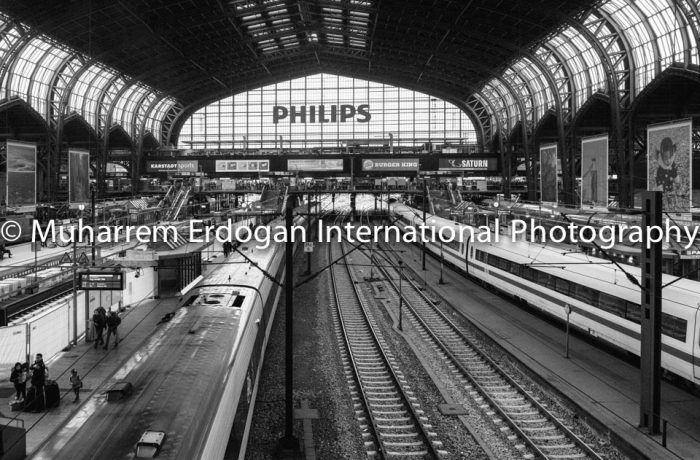 Hamburg – Germany – CENTRAL RAILWAY STATION 14.08.2016