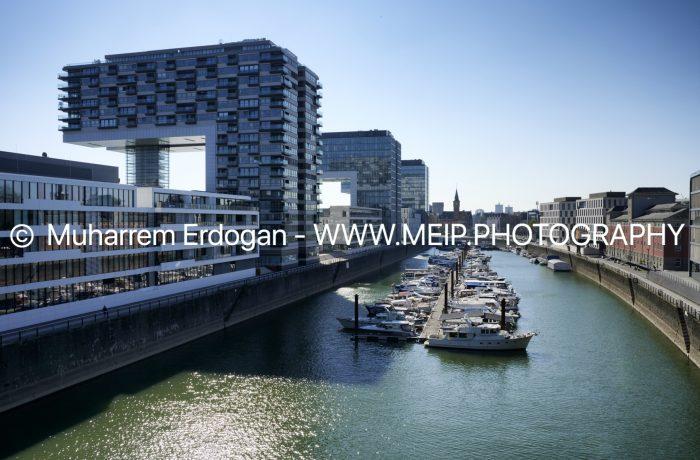Rheinauhafen April 2020 – Cologne